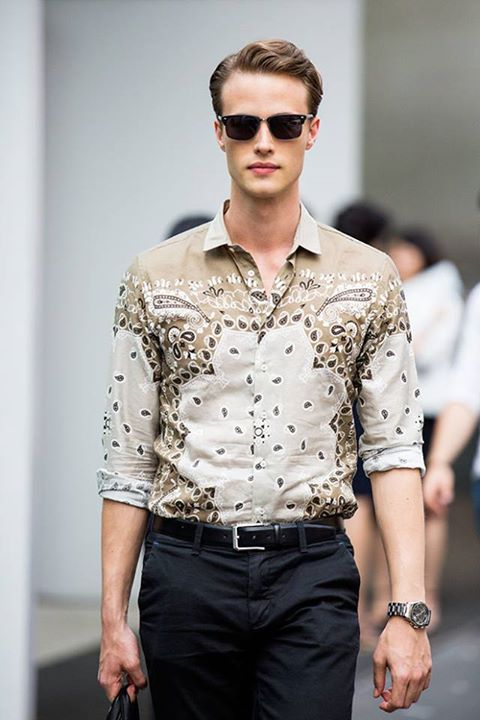 Street Looks from Milan Menswear Week Spring/Summer 2016